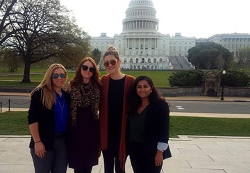 SCNM Students Present to Congress at DCFLI
